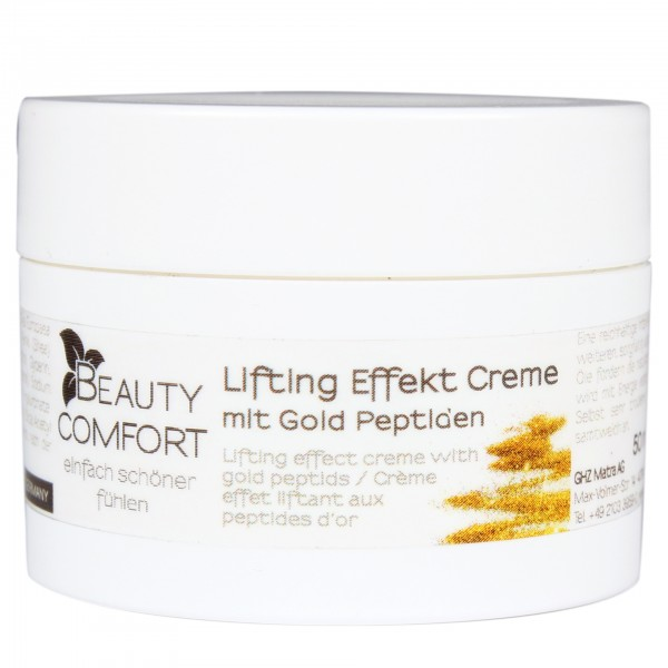 Beauty Comfort Lifting Effekt Creme mit Gold Peptiden 50 ml