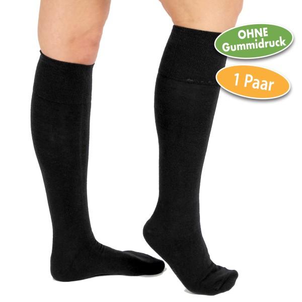 Vital Comfort Wohlfühl-Kniestrümpfe 1 Paar (schwarz)