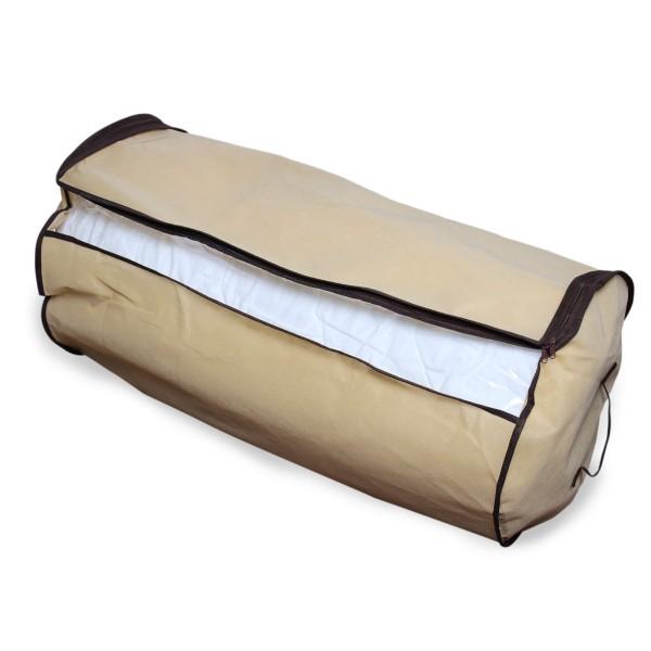 Aufbewahrungstasche für Bettdecken, rund