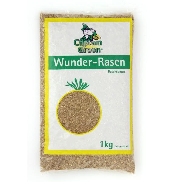 """Captain Green Rasensamen """"Wunder Rasen"""" 1 kg"""