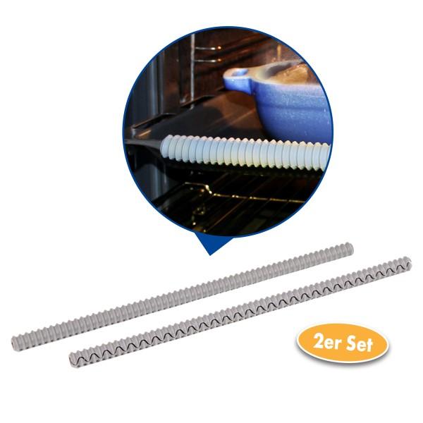 Silikon Backofenrost Hitzeschutzleiste 2er Set