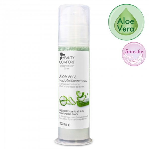 Beauty Comfort Aloe Vera Hautgel-Konzentrat 100 ml