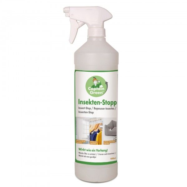 "Captain Green Insektenspray ""Insekten-Stopp"" 1000 ml"