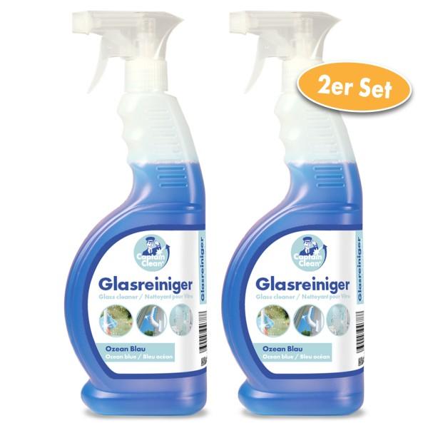 Captain Clean Glasreiniger 650 ml 2er Set