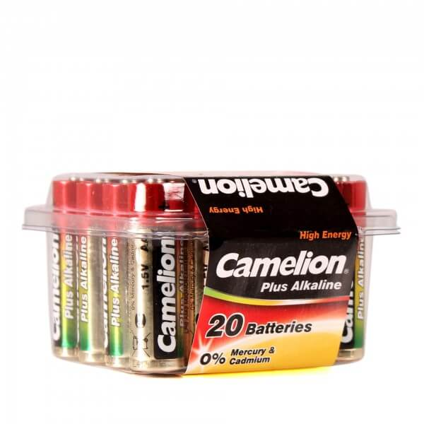 Camelion Batterie Alkaline AA / LR06 / AM3 / Mignonzelle 20er Set in Blisterbox