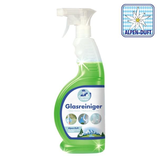 Captain Clean Glasreiniger 650 ml mit Alpenduft