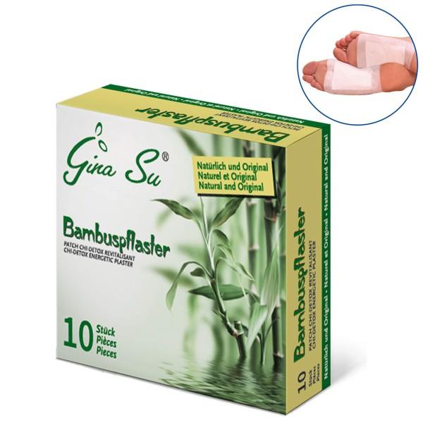 Gina Su Bambuspflaster 10 Stück