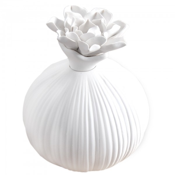 Deko Luftbefeuchter und Duftspender Blumenmotiv