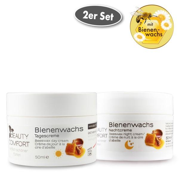 Beauty Comfort Bienenwachs Tages- und Nachtcreme je 50 ml