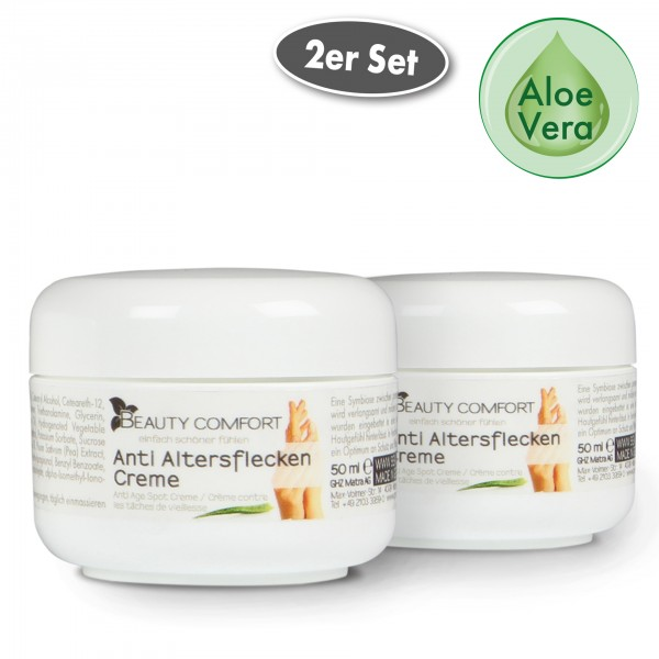 Beauty Comfort Anti Altersflecken Creme 50 ml 2er