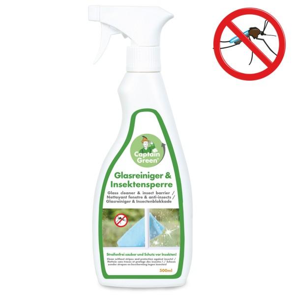Captain Green Glasreiniger und Insektensperre 500 ml
