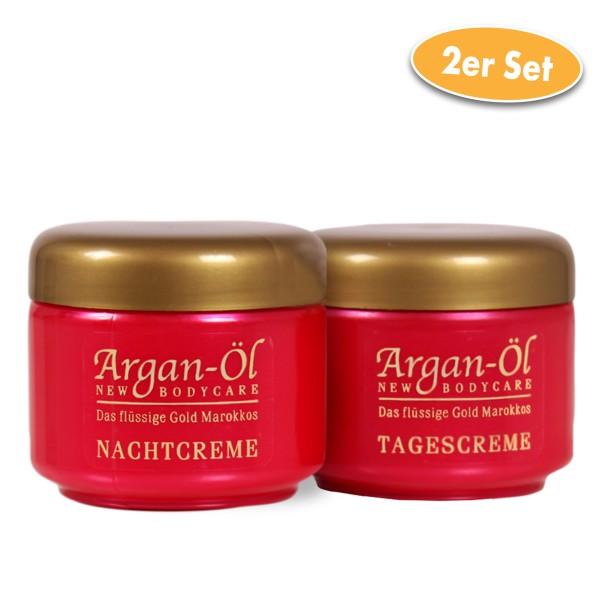Bio-Vital Pflegeset Argan-Öl Tag- und Nachtcreme je 125 ml