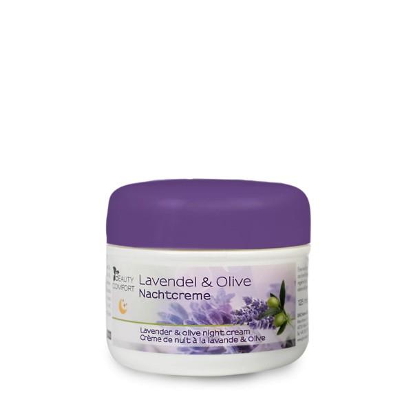 Beauty Comfort Lavendel & Olive Nachtcreme 125 ml