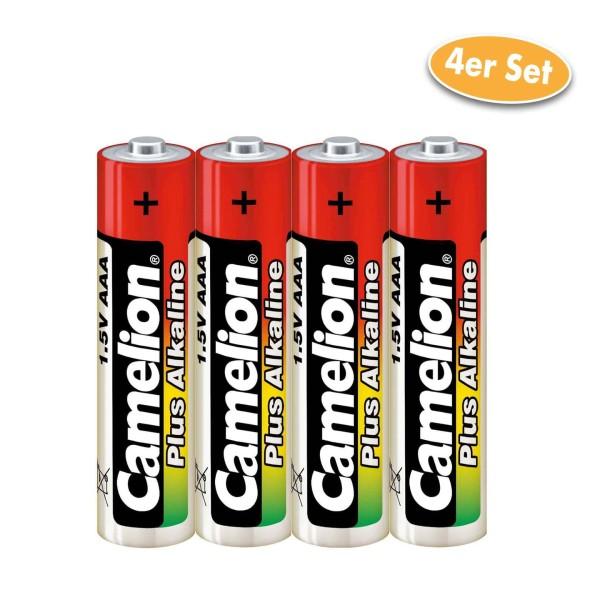 Camelion Batterie Alkaline AAA / LR03 / AM4 / Microzelle 4er