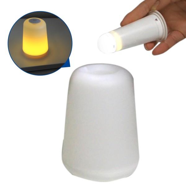 LED Tischleuchte 2 in 1 mit abnehmbarer Taschenlampe