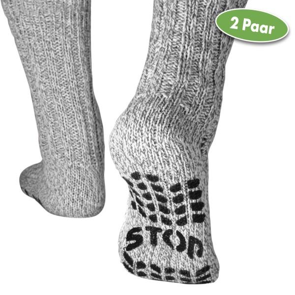 Vital Comfort Socken Stopper, 2 Paar (hellgrau)