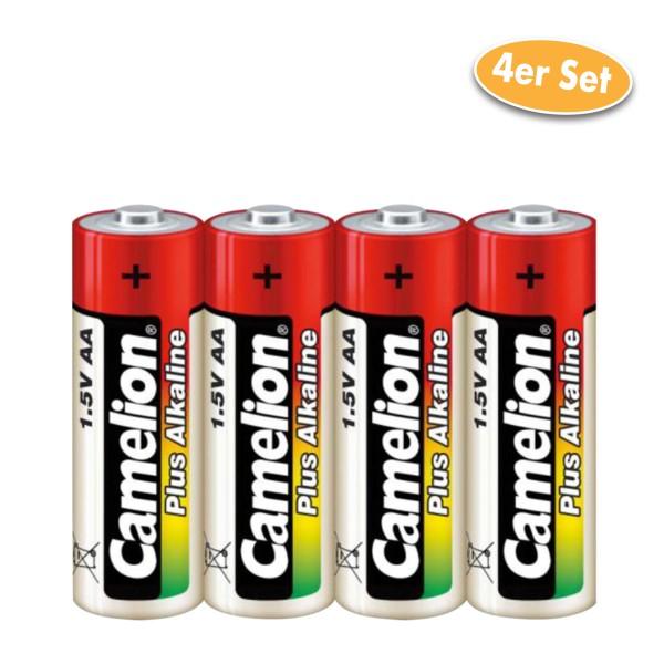 Camelion Batterie Alkaline AA / LR06 / AM3 / Mignonzelle 4er