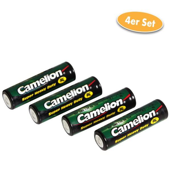 Camelion Batterie Zink-Kohle AAA / R03 / UM4 / Microzelle 4er
