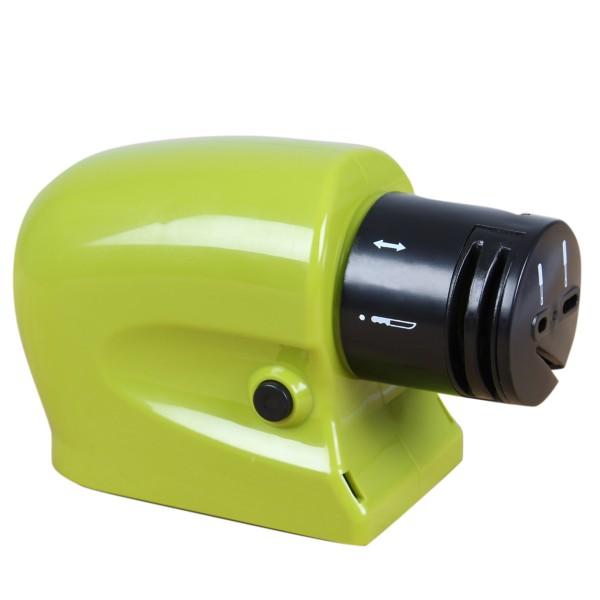 Messerschärfer batteriebetrieben, grün