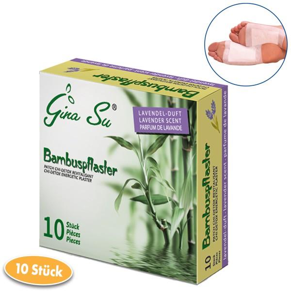Gina Su Bambuspflaster mit Lavendelduft 10 Stück