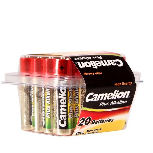 Camelion Batterie Alkaline AAA / LR03 / AM4 / Microzelle 20er Set in Blisterbox