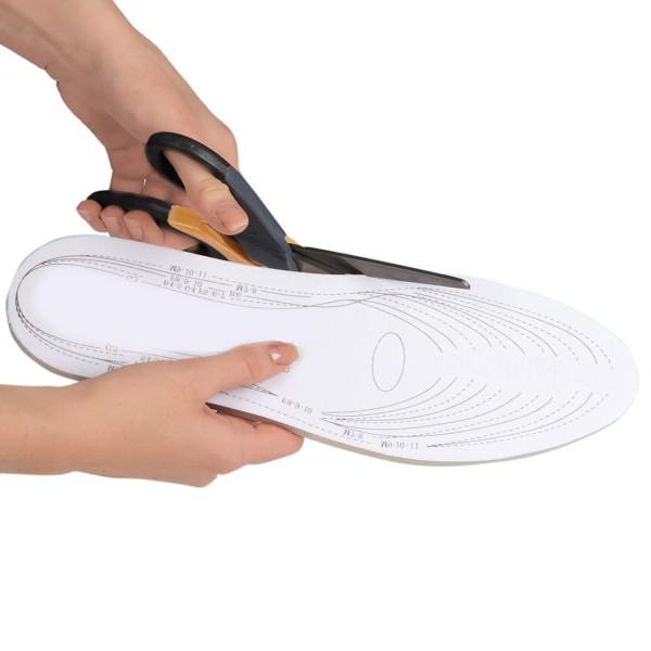 Vital Comfort Einlegesohlen Memory Foam, 1 Paar, zuschneidbar