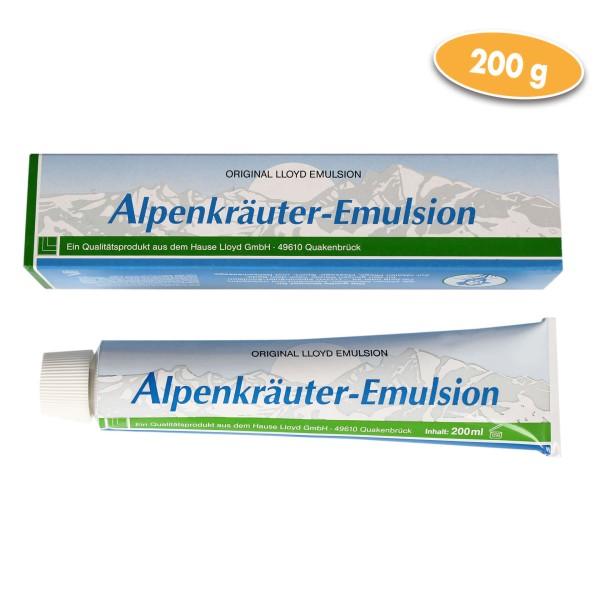 Alpenkräuter-Emulsion 200 g